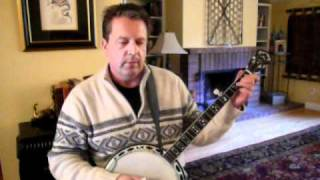 Redwing on Deering Maple Blossom 5-String Banjo with Melodic Break