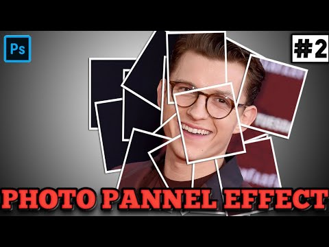 PHOTO PANNEL EFFECT IN PHOTOSHOP|PS tutorial series#2 thumbnail