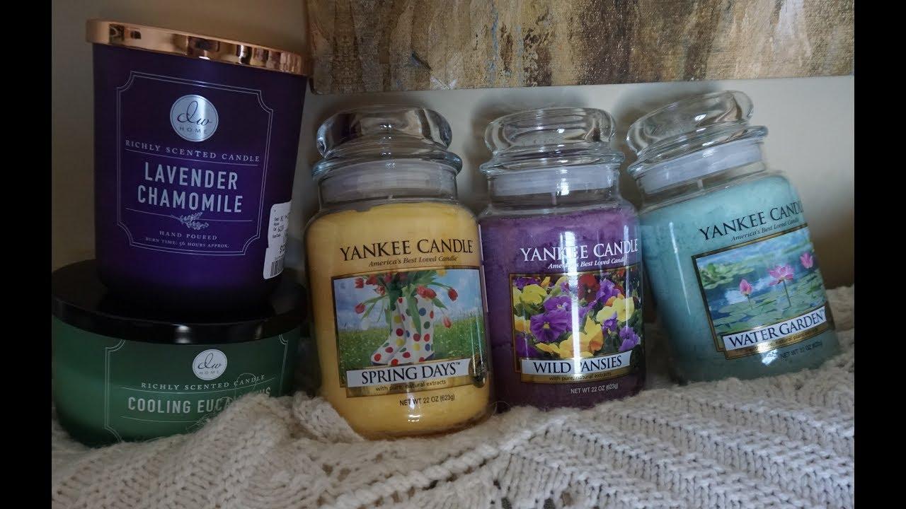 "Yankee Candle, 2 Jars /""Spring Days/"" 22 oz"