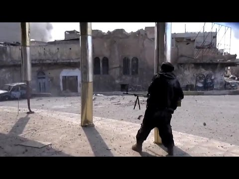Iraqi forces push to drive ISIS out of Mosul