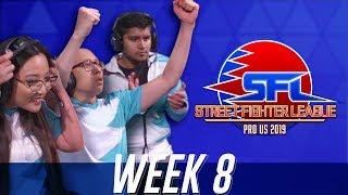 Street Fighter League (Season 2) - Week 8
