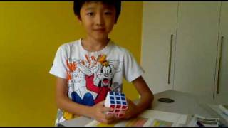 7 years old boy kid solskjaer solves rubik s 3x3x3 cube in 55 sec improved faster speed mp4