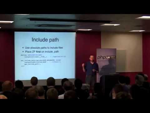 PHP UK Conference 2011 - Optimising a Zend Framework application, by Rob Allen