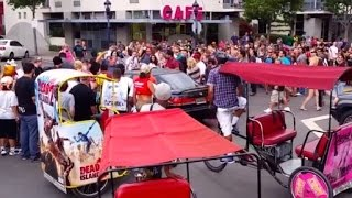 Zombie Walk Hit and Run at 2014 Comic Con