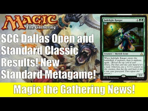 MTG SCG Standard Classic and Dallas Open Results!  New Standard Metagame!