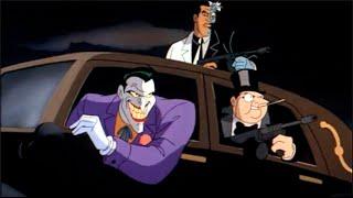 Hugo Strange betrays The Joker, Two Face & Penguin