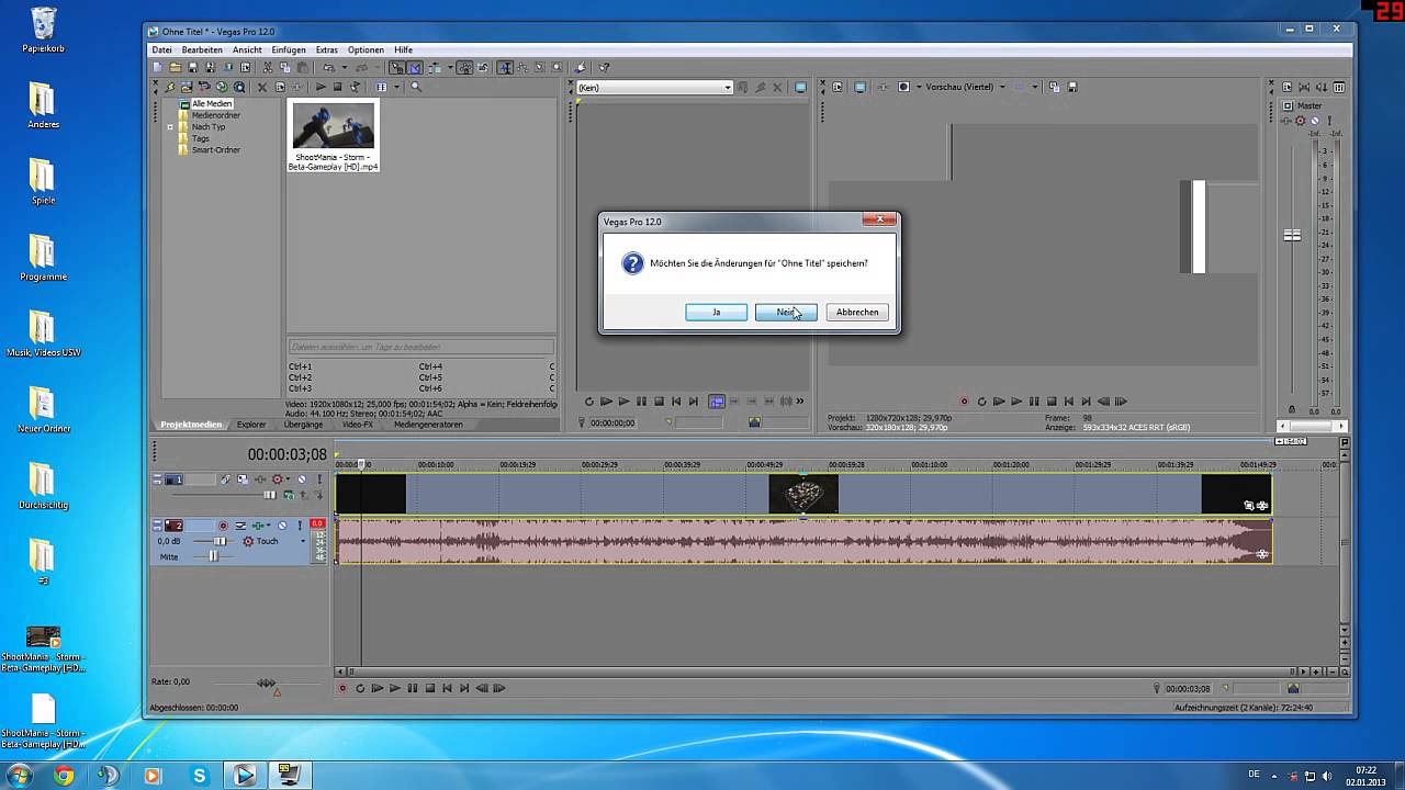 sony vegas 13 rendering stuck