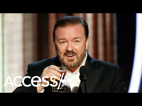 Ricky Gervais Leaves 2020 Golden Globes Audience Speechless With Edgy Roast-Filled Monologue