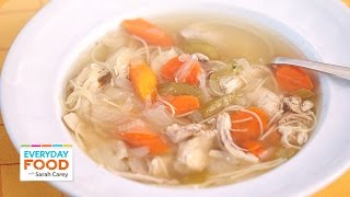 One-Pot Classic Chicken Soup- Everyday Food with Sarah Carey