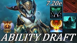 Dota 2 Ability Draft: +300 DMG Atrophy Aura INSANITY! Full Gameplay