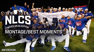 MLB Chicago Cubs NLCS vs Dodgers Best Moments/Highlights - Advance to World Series - Postseason 2016