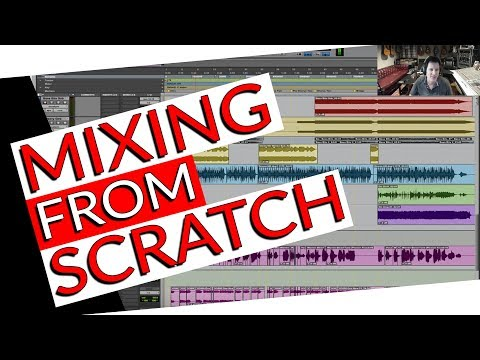Mixing a song from scratch- Warren Huart: Produce Like A Pro