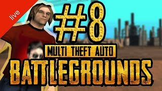 FIRST-PERSON ACTION! | GTA San Andreas PUBG! (MTA)! | #8 [DE]