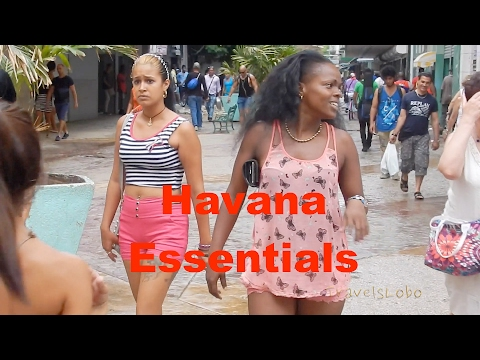 HAVANA ESSENTIALS - Water - Money - Cell Phone - Shopping - Bus Station
