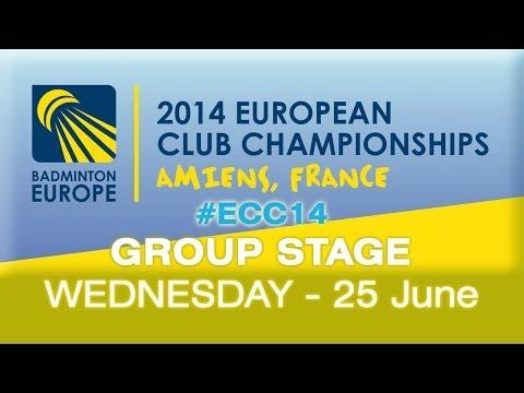 SCB - Stara Zagora vs AIX Universite CB (Group Stage Day 2) - 2014 European Club Championships
