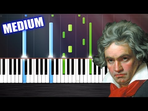 Beethoven - Moonlight Sonata - Piano Tutorial by PlutaX - Synthesia