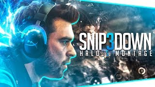 Snip3down Halo 5 Montage - Edited By Hastings