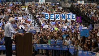 Bernie Sanders Rally in Charleston, South Carolina