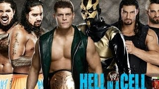 Goldust & Cody Rhodes vs The Shield vs The Usos - Hell In A Cell 2013