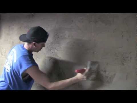 How to Cement Basement walls    Concrete and Cement work Contractor