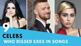 9 Celebs Who DISSED Their Exes In Songs! | Hollywire
