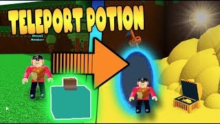 *NEW* TELEPORTATION POTION Build a Boat for Treasure ROBLOX