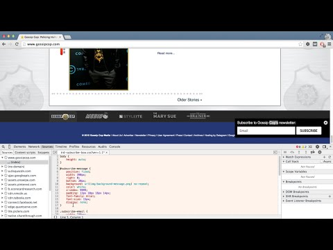 How to Copy Another Site's CSS Using Chrome Developer Tools