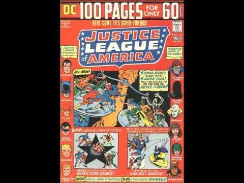 #63 Comic Reflections 11.17.13 Justice League JSA John Carter of Mars U.N.C.L.E.