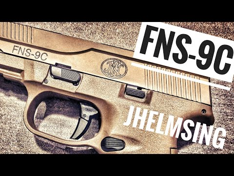 FNS-9C FDE review: this gun should be in your waistband.