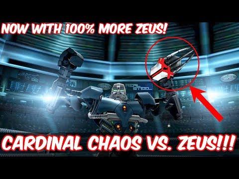Real Steel WRB - Cardinal Chaos VS. Zeus!