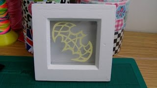 DIY: Paper Cut Shadow Box