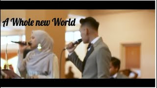A Whole New World - Peabo Bryson & Regina Belle Cover By NWS JOGJA
