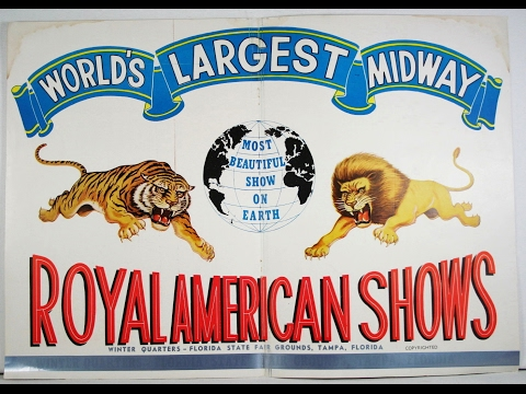 ROYAL AMERICAN SHOWS - WORLDS LARGEST MIDWAY