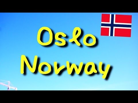 Traveling guide in Oslo, Norway. [HD] Beautiful!