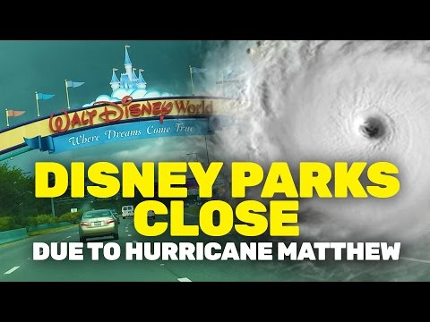 Walt Disney World officially closed as Hurricane Matthew hits Orlando
