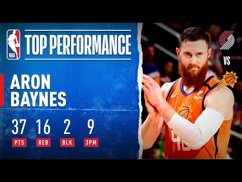 Aron Baynes erupts for 37/16, 2 blocks, and 9 3pm in a win over the Houston Rockets!