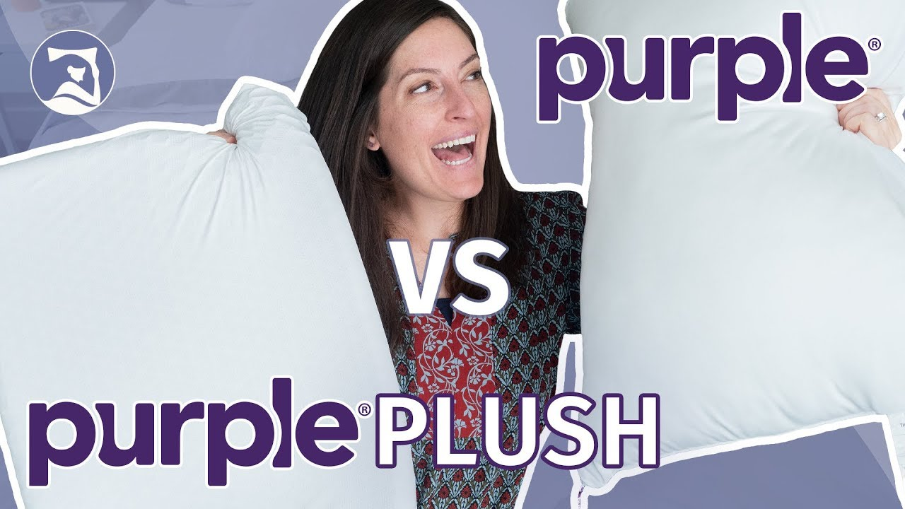 pillow reviews purple vs purple plush is one going home with you