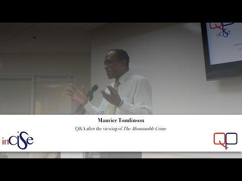 Maurice Tomlinson at QP7 (Cayman Islands)