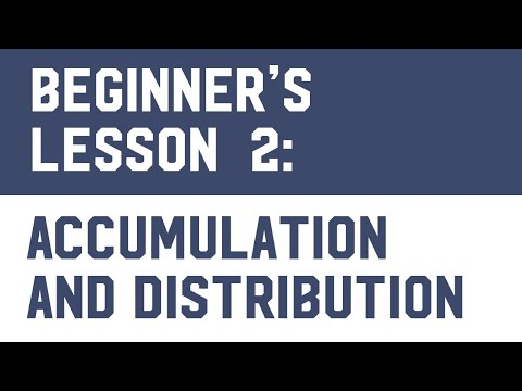 Bitcoin Trading (Free Course) Lesson 2: Accumulation And Distribution