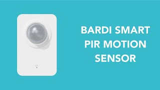 BARDI PIR Motion Sensor