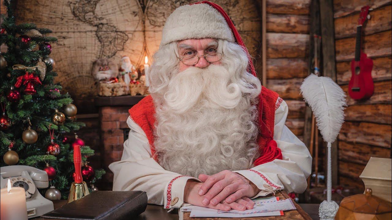 3a57c4220e0ff Un mensaje de Papá Noel Santa Claus - Laponia Finlandia Ciudad de Papá Noel  Rovaniemi PNP - YouTube