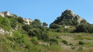 Poblado medieval Portilla de Ibda y su castillo (Alava)