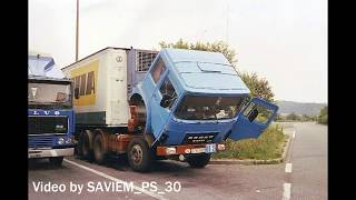 Romania - Transports Internationaux Routiers (T.I.R.) in the 70's & 80's by ROMAN DIESEL TRUCKS