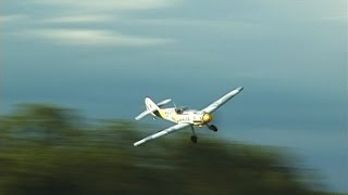 FMS 800mm BF109 - Reinforced RC Plane That Lasts