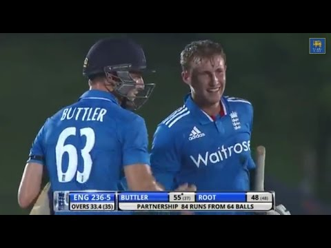 Highlights: 3rd ODI, England in Sri Lanka 2014