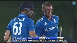 Highlights: 3rd ODI, England in Sri Lanka 2014