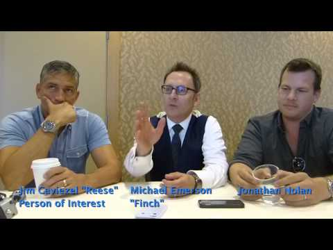 "SDCC 2015: Person of Interest: Jim Caviezel ""Reese"" & Michael Emerson ""Finch"" & Jonah Nolan"