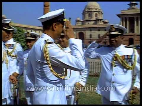 Appointment of Admiral Vishnu Bhagwat as a Chief of the Naval Staff of India