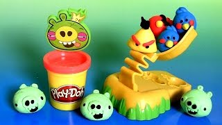 Play Doh Angry Birds Build