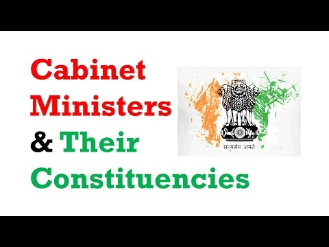 Funny Tricks to Remember Cabinet Ministers and their Constituencies!! - Study Capsule